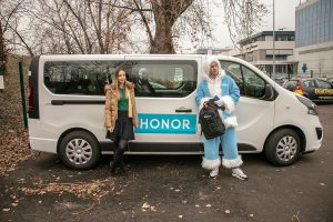 Honor, Pop Up Advertising Beograd