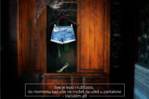 Vacuslim 48, Mesmerie, Pop Up Advertising Beograd